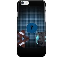 Ghost meets 343 Guilty spark iPhone Case/Skin