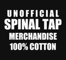 UNOFFICIAL SPINAL TAP by ArtKillsMe