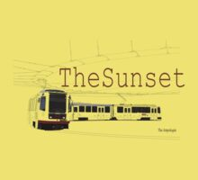 Muni Train in the Sunset Kids Clothes