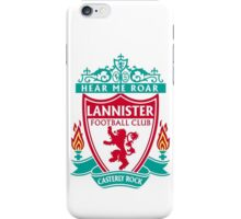 Lannister Liverpool Football Club iPhone Case/Skin