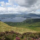View of Loch Lomond from Conic Hill (2), Balmaha, Scotland by MagsWilliamson