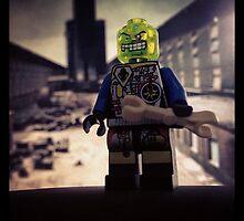 Lego villian Green Head by MonkeyFondue