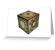 The Lament Configuration (aka Hellraiser Puzzle Box) Greeting Card