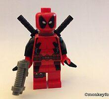 Lego Deathpool  by MonkeyFondue