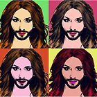 Conchita Wurst - Pop Art by lockwie