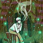 Ginko - Mushishi by froggyk