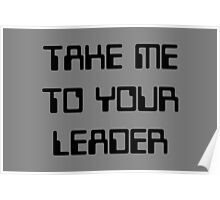 take me to your leader Poster