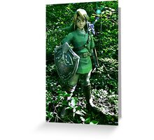 The Legend of Link Greeting Card