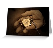 As time goes by... Greeting Card
