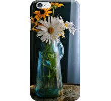 Another Blue Pitcher Bouquet iPhone Case/Skin