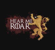 Hear Me Roar - House Lannister Kids Clothes