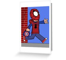 The Spectacular Spider-Kid Greeting Card