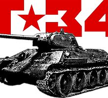 T-34 by deathdagger