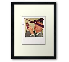 they have a connection Framed Print