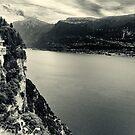 Pieve - Lake Garda - Italy by Ronny Falkenstein