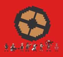 Pixel Fortress 2 - Red by Scott Duncan