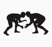 Wrestling Wrestler by Designzz