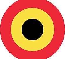 Roundel of Belgian Air Component (Belgian Air Force) by abbeyz71