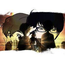 Zankyou no Terror Past & Present by ProdigyJin