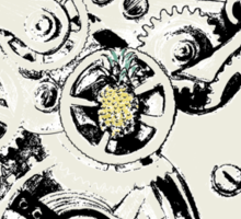 Clockwork Pineapple Sticker