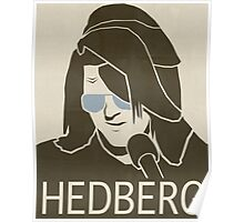 Mitch Hedberg Vintage Poster Poster