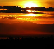Chico, CA Sunset by debsdesigns