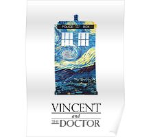 """Vincent and the Doctor"" Poster"