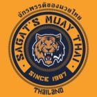 Sagat's Muay Thai 2 by johnbjwilson