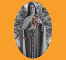 """✿♥‿♥✿ST. THERESE OF LISIEUX-ALSO KNOWN AS """"LITTLE FLOWER"""" TEE SHIRT✿♥‿♥✿ by ╰⊰✿ℒᵒᶹᵉ Bonita✿⊱╮ Lalonde✿⊱╮"""