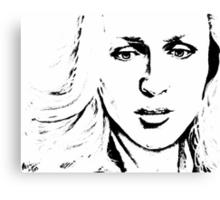Stella Gibson Canvas Print