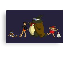 Doctor Totoro Canvas Print
