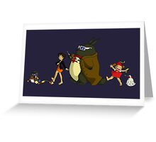 Doctor Totoro Greeting Card