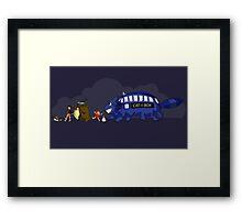 Doctor Totoro Framed Print