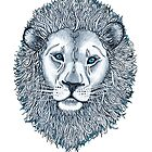 Blue Eyed Lion by micklyn