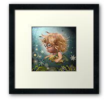 The Cuddle Fish Framed Print