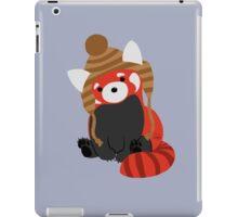 Collin the Beanie-Wearing Red Panda iPad Case/Skin