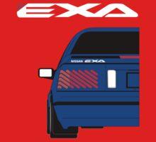 Nissan Exa Coupe - JAP Edition Blue Kids Clothes