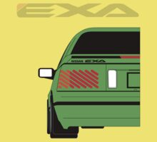 Nissan Exa Coupe - Green Kids Clothes