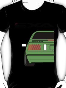 Nissan Exa Coupe - Green T-Shirt