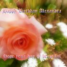 *Birthday Card - Alexandra* by EdsMum