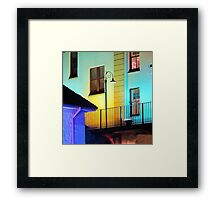 The Lamp Post Framed Print