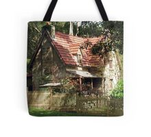 The Olde Gardener's Cottage Tote Bag