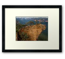 Hanging Rock, Blackheath Framed Print