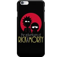 Rick and Morty Adventures A Hundred Years shirt phone ipad case pillow hoodie iPhone Case/Skin