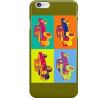 1971 Land Rover Pick up Truck Pop Art iPhone Case/Skin