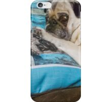 It's My Pug Pillow iPhone Case/Skin