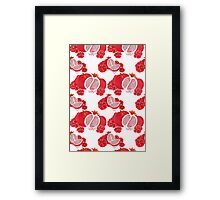 Pome and Holly Framed Print