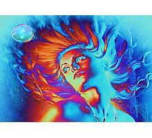 Waterwoman Photographic Print