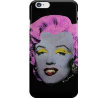 Vampire Marilyn variant 2 iPhone Case/Skin