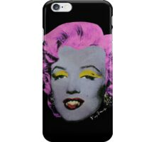 Vampire Marilyn variant 2 iPhone Case/Skin
